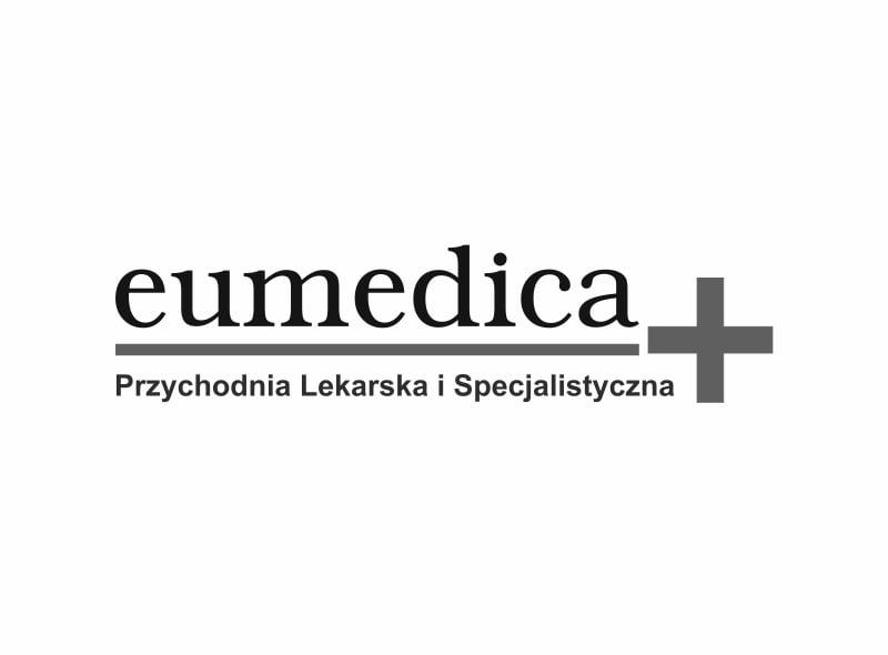 Logo przychodni Eumedica - jednego z naszych klientów