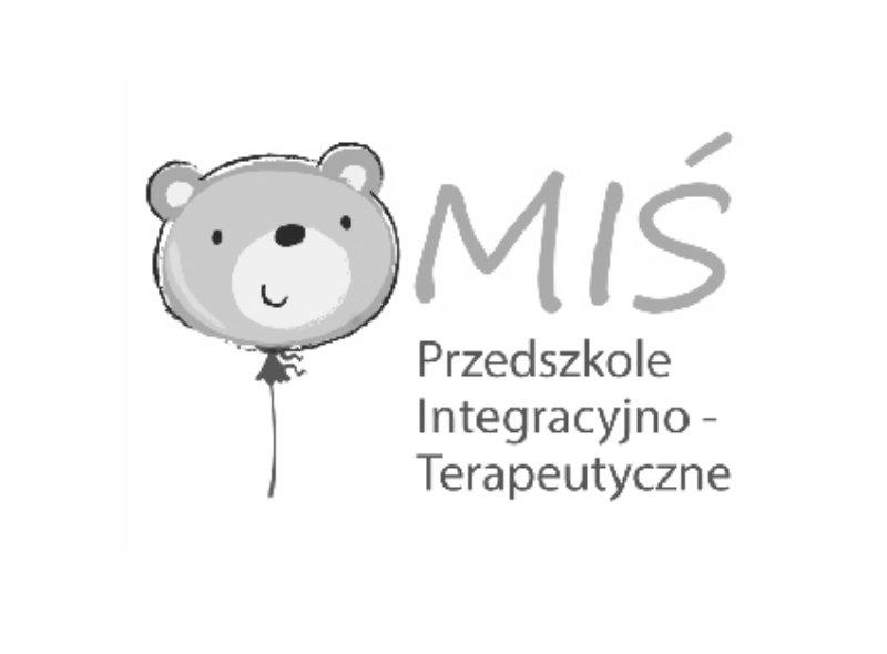 Logo Przedszkola Integracyjno-Terapeutycznego MIŚ - jednego z naszych klientów