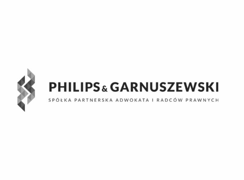 Logo kancelarii Philips & Garnuszewski - jednego z naszych klientów