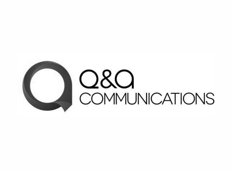 Logo firmy Q&A Communications - jednego z naszych klientów